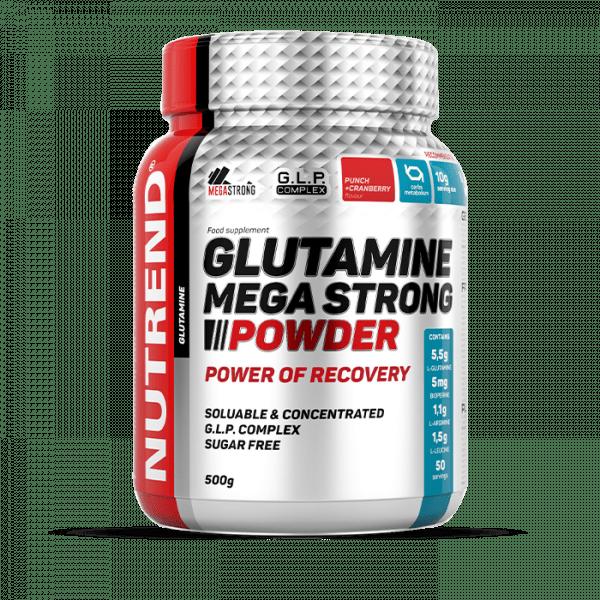 NUTREND GLUTAMINE MEGA STRONG POWDER 500g Aminos