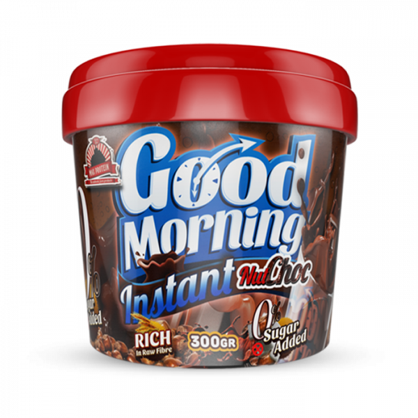 MAX PROTEIN GOOD MORNING INSTANT 300g Food - Nut-Choc - MHD 31.05.2021