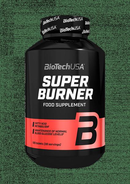 BioTechUSA Super Burner, 120 Tabletten Diät Produkte