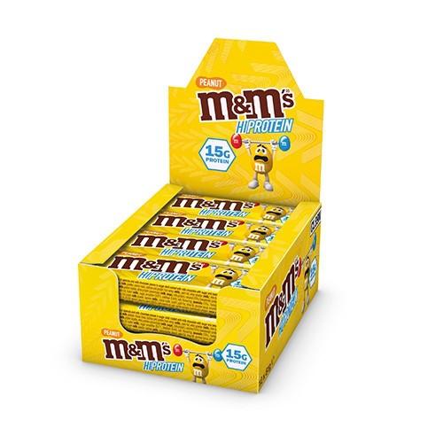 MARS PROTEIN - m&m's Protein Peanut Bar 12 x 51g