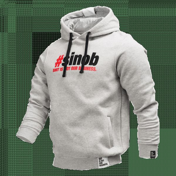 SINOB Hoodie Grau Sportbekleidung