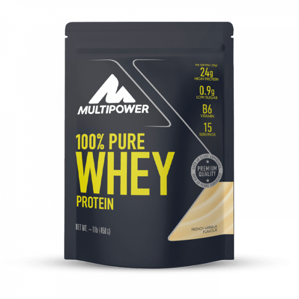 MULTIPOWER 100% Pure Whey 450g Proteine