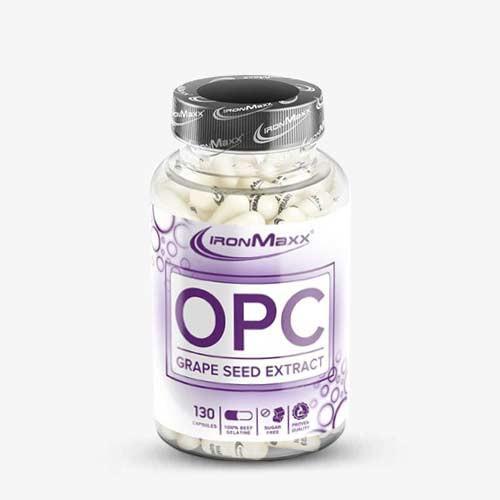 IRONMAXX OPC Grape Seed Extract Kapseln - 130 Kapseln