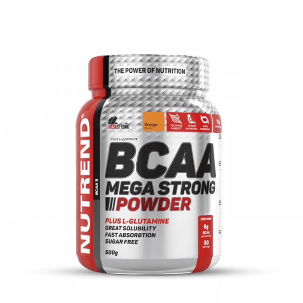 NUTREND BCAA MEGA STRONG POWDER 500g Aminos