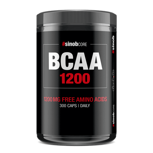 SINOB Core BCAA 1200mg Caps 300 Big Caps
