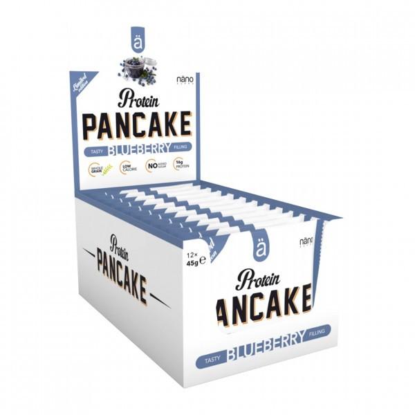 ä Protein Pancake, 12x45g Bars und Snacks
