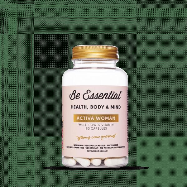 Be Essential ACTIVA WOMAN Multi power vitamin, 90 Kapseln Vitamine und Mineralien