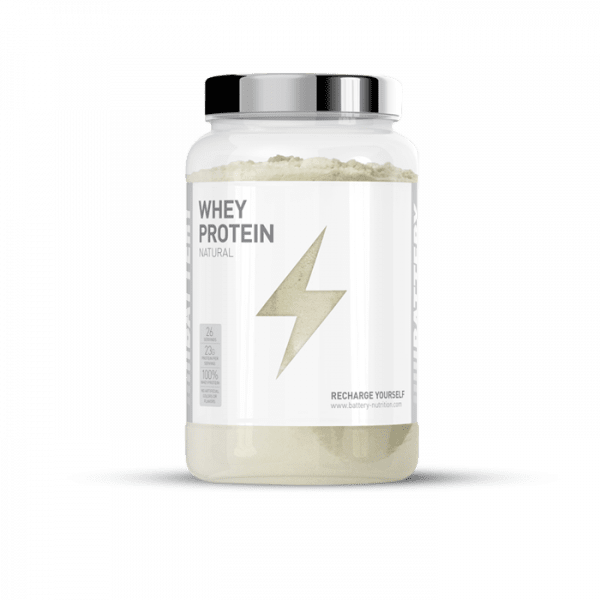 BATTERY WHEY PROTEIN NATURAL, 800g Proteine
