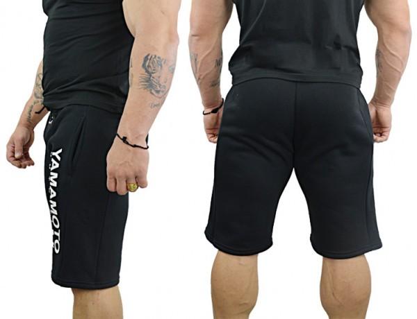 Sweatshorts Pro Team Yamamoto®, Schwarz Sportbekleidung