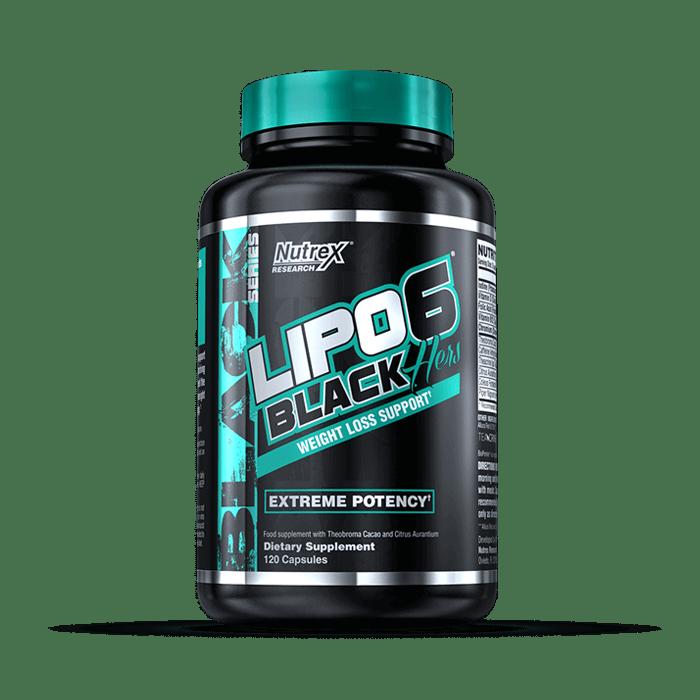 Lipo 6 schwarz intensiver Gewichtsverlust