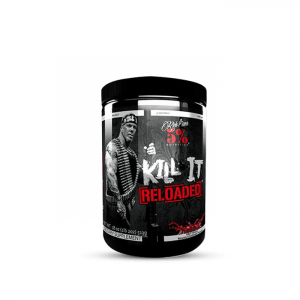 5% Nutrition Kill It Reloaded, 513g Trainings Booster - Fruit Punch - MHD 31.08.2020