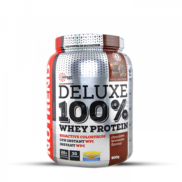 NUTREND DELUXE 100% WHEY 900g Proteine