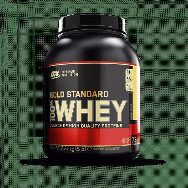 OPTIMUM NUTRITION 100% Whey Gold Standard 2270g Proteine