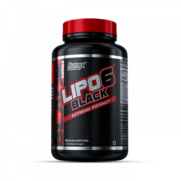 NUTREX RESEARCH - LIPO 6 BLACK, 120, STANDARD
