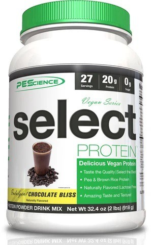 PES Select Vegan Protein - Chocolate - MHD 30.04.2021