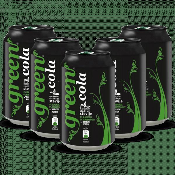 Green Cola 24x330ml