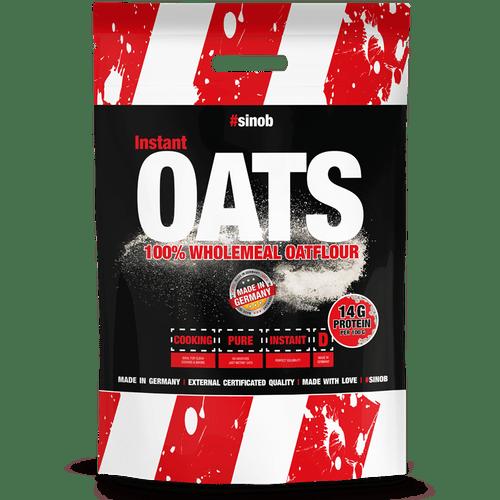 Sinob Instant Oats / Hafermehl, 4000g, Neutral Food