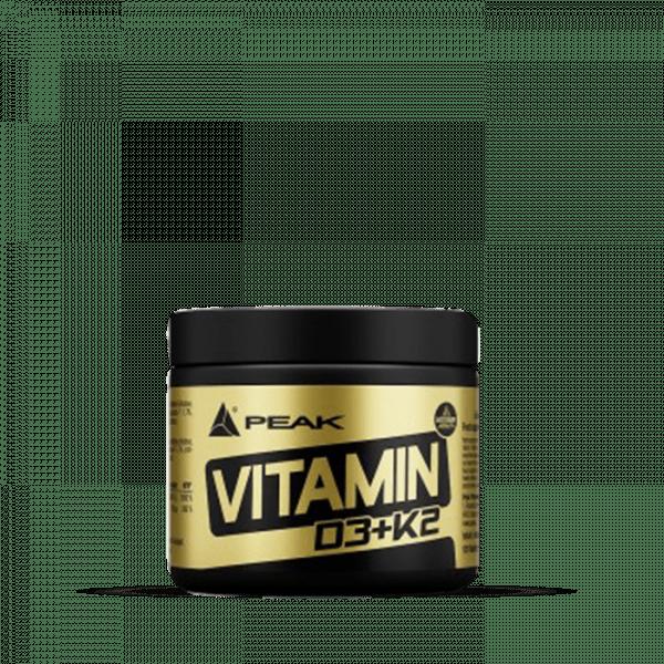 PEAK - Vitamin D3+K2 (120) Unflavoured Vitamine und Mineralien - MHD 30.04.2021