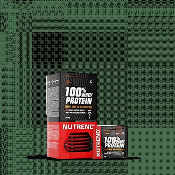 NUTREND 100% WHEY PROTEIN, 20 x 30g Proteine