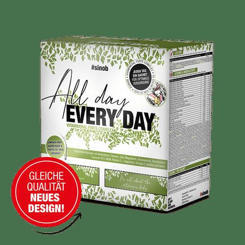 SINOB All Day Every Day Vitaminpack, 30 Päckchen √° 8 Stk Vitamine und Mineralien