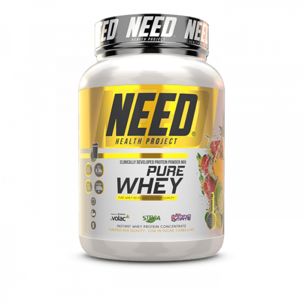 NEED PURE WHEY 1000g Proteine - Tropical Fruit Smoothie - MHD 31.10.2020