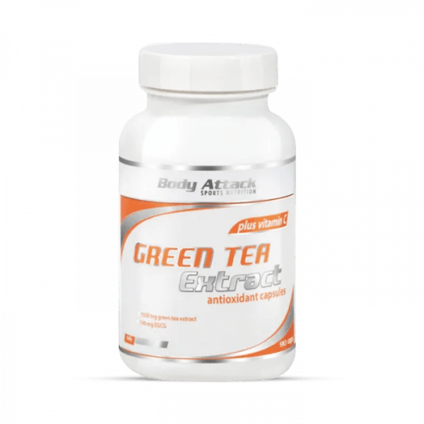 Body Attack Green-Tea Extract 90 Kapseln Health Produkte