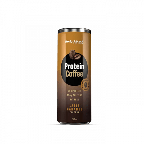 Body Attack Protein Coffee 12 x 250ml Drinks