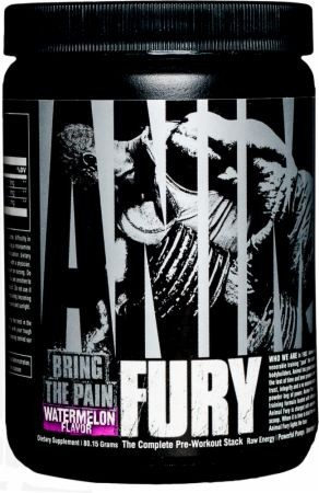 Universal Nutrition Animal Fury Waterlemon 495g Trainings Booster