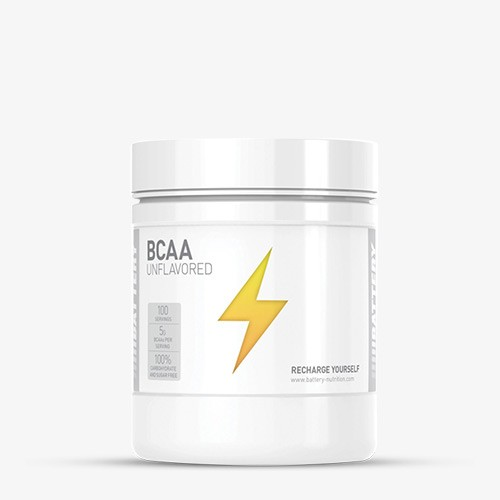 BATTERY BCAA 500g Aminos - Unflavored - MHD 30.04.2021