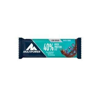 MULTIPOWER 40% Protein Fit Riegelbox 24 Stück 35g - Chocolate-Almond - MHD 31.05.2021