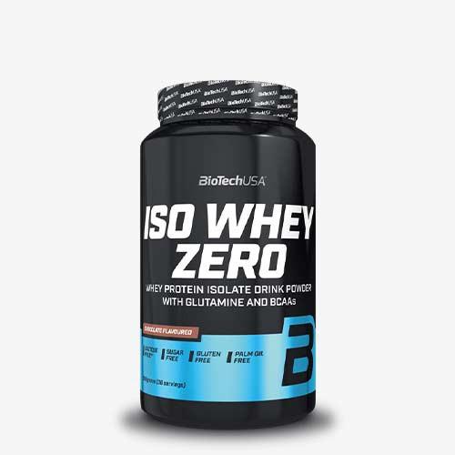 BIOTECHUSA Iso Whey Zero LACTOSE FREE 908g Proteine