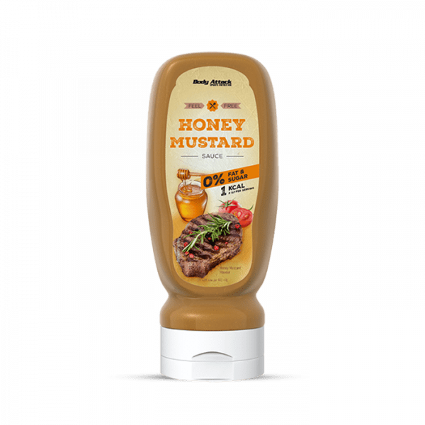 Body Attack Sauce Honey-Mustard, 320ml Food