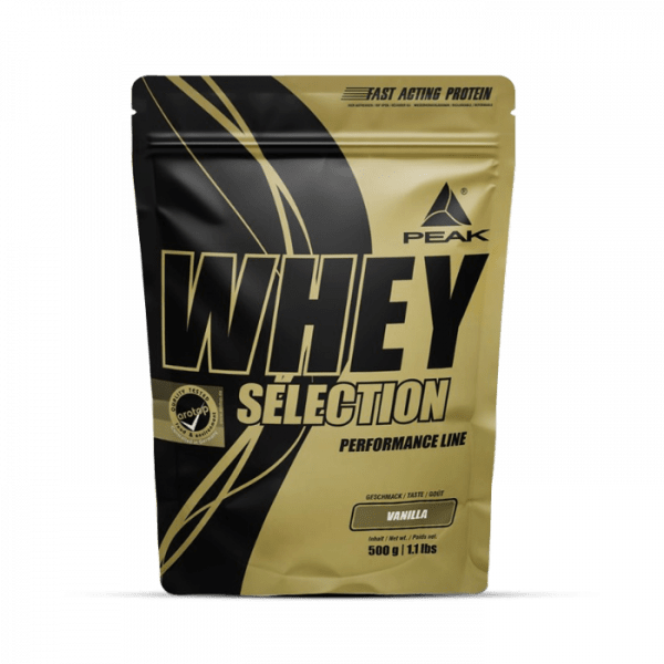 Peak - Whey Selection (500g) Proteine