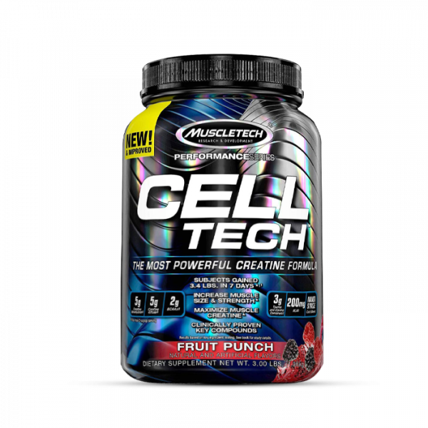 Muscletech - Performance Series Cell-Tech, 1400g - Fruit Punch Kreatin