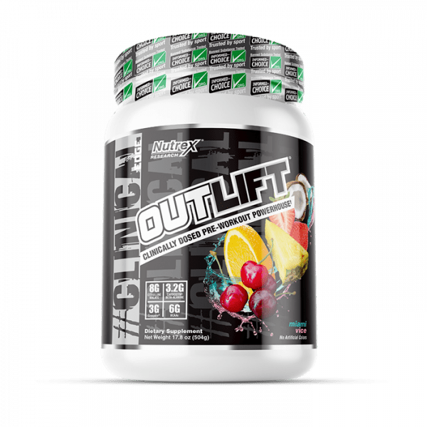 NUTREX RESEARCH - OUTLIFT (20 SERV) MIAMI VICE