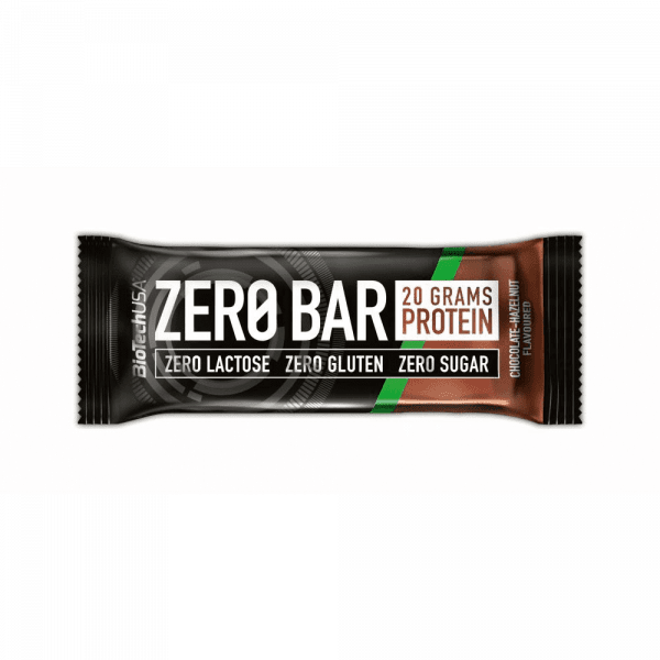 BioTechUSA ZERO Bar, 20 x 50g Bars und Snacks