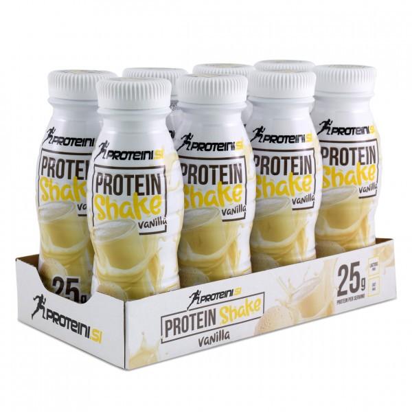 PROTEINI.SI Protein Shake 8 x 330ml RTD Vanila