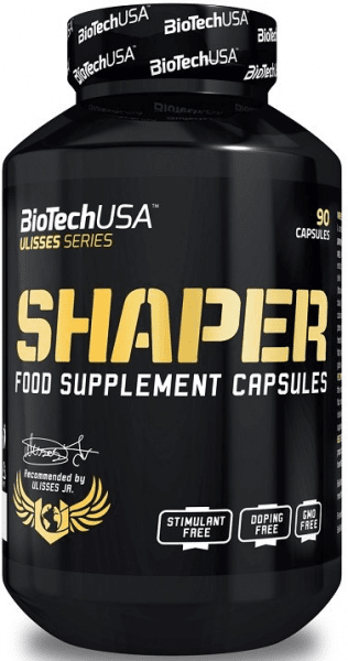 BioTechUSA Ulisses Shaper, 90 Kapseln Diät Produkte