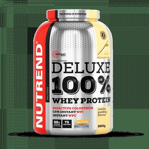 NUTREND DELUXE 100% WHEY 2250g Proteine - Pudding Vanilla - MHD 25.04.2021