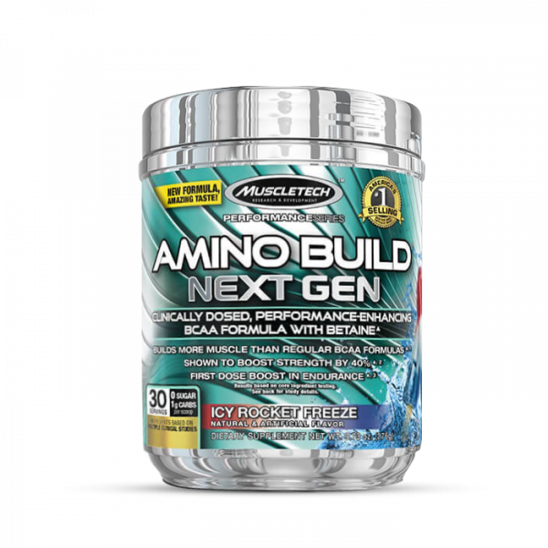 Muscletech - Performance Series Amino Build Next Gen (30 serv) Icy Rocket Freeze Aminos