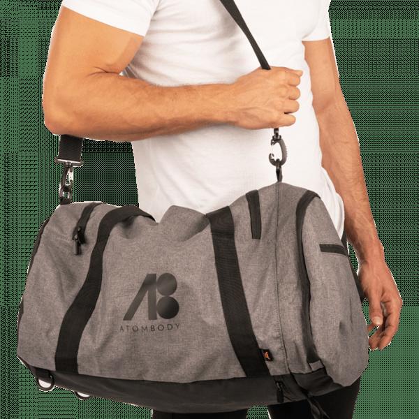 ATOMBODY Sporttasche Multi Bag & Rucksack, grysprinkle Trainingszubehör