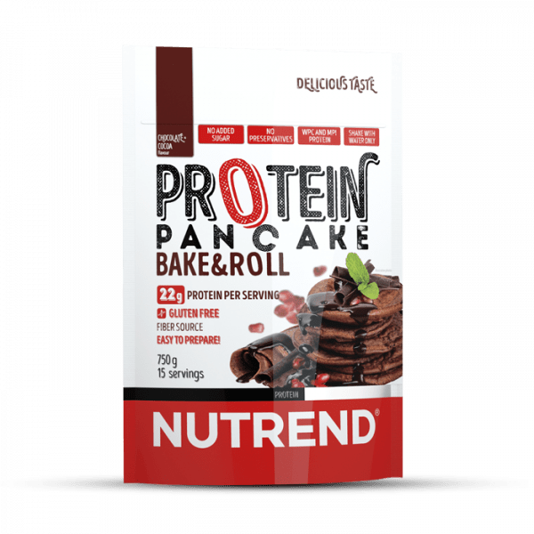 NUTREND PROTEIN PANCAKE, 750g, chocolate+cocoa Food