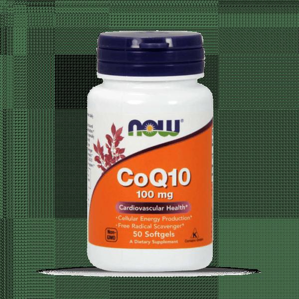 Now Foods - CoQ10 100mg (50) Standard Health Produkte