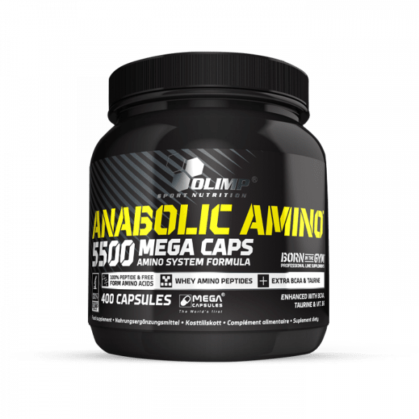 OLIMP Anabolic Amino 5500 Mega Caps®, 400 Kapseln