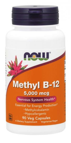 Now Foods - Methyl B-12 5000mcg