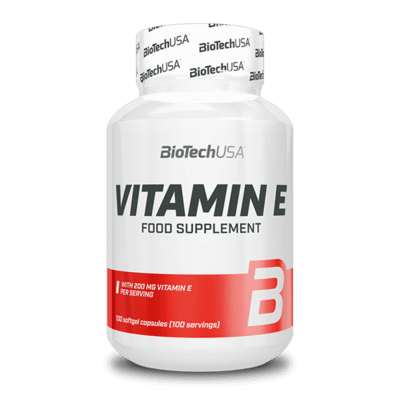 BIOTECHUSA Vitamin E 400 100 Tabletten Vitamine und Mineralien