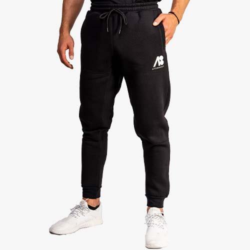 ATOMBODY Pants Men black