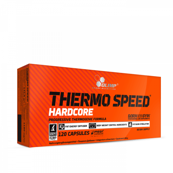 OLIMP Thermo Speed Hardcore Mega Caps®/Mega Capsules®, 120 Kapseln
