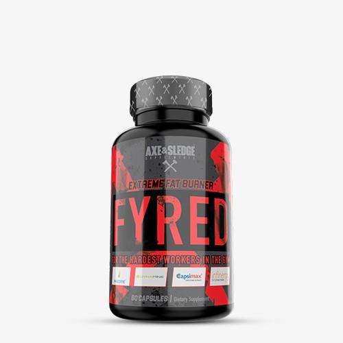 Axe & Sledge Supplements Fyred 60 caps