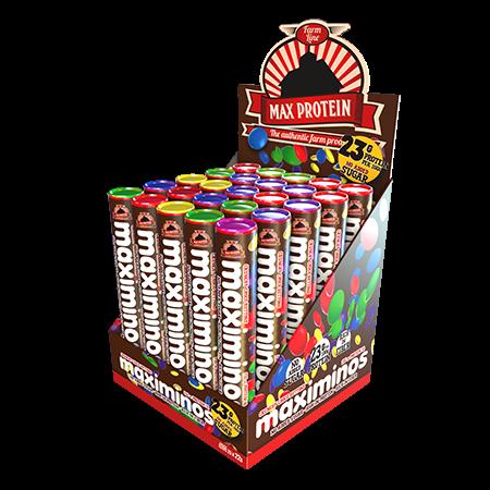 MAX PROTEIN MAXIMINOS 25 x 25g BOX Bars und Snacks